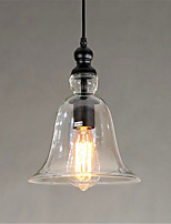 European Style Simple Personality Glass Bell Pendant Lamp (Including 1 E26/E27 Bulbs)