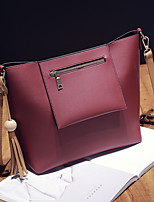 M.Plus Women Fashion Solid Messenger/Shoulder Crossbody Bag/Handbag Tote