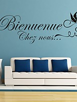 Palabras y Frases Pegatinas de pared Calcomanías de Aviones para Pared Calcomanías Decorativas de Pared,PVC Material RemovibleDecoración