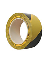 Two Black And Yellow 43Mm * 15M Floor Tapes Per Pack