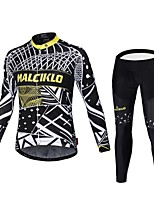 2016 winter MALCIKLO Fleece long sleeve Cycling Jerseys winter outdoors O-neck mtb Cycling Clothing