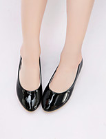 Girl's Flats Spring / Fall Flats Rubber Casual Flat Heel Others Black / White Others