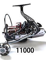 Спиннинговые катушки 4:7:1 11 Шариковые подшипники Заменяемый Морское рыболовство-SP11000 fishdrops