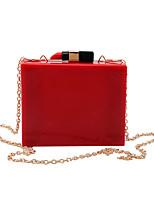 L.west Women Elegant High-grade Acrylic Lipstick Evening Bag