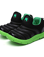 Boy's Sneakers Spring Fall Comfort Fabric PU Outdoor Casual Flat Heel Others Black Green