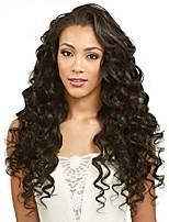 От 8 до 24 дюймов бразильские человеческие волосы парики свободная волна бесклеевой фронта шнурка для чернокожих женщин