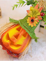 Halloween Scarecrow Pumpkin Bubble Decorated Activity Scene Props Children Flash Toys Color Random
