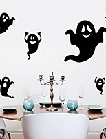 Personality Halloween Series Apparition Wall Stickers Bedroom Living Room Decorative Sticker Removable Waterproof