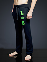 LOVEBANANA Men's Active Pants Black-38003