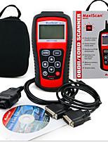 lector de código MS509 OBD2 escáner detector de vehículos maxiscan instrumento de diagnóstico de fallas