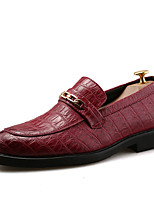 Men's Oxfords Spring / Summer / Fall / Winter Leather Office & Career / Party & Evening / Casual Flat Heel Lace-up