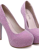 Women's Heels Spring / Summer / Fall Heels / Platform Microfibre Outdoor Stiletto Heel Sequin / Rivet  Others