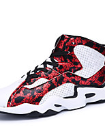 Men's Sneakers  Others / Comfort PU Athletic / Casual Flat Heel Lace-up Black and Red / Black and White / Orange