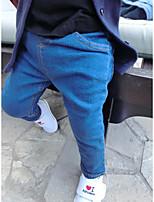 Boy's Casual/Daily Solid PantsNylon Spring Black / Blue