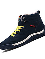 Men's Sneakers Spring / Fall Comfort Fabric Casual Flat Heel  Blue / Yellow / Red Sneaker