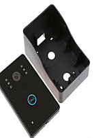 7 Inch Touch Color Video Intercom Doorbell Night Rain HD Video Intercom