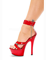 sexy personality shoes / Women's Heels Summer / Novelty Patent Leather / Customized Materials Wedding / Party & Evening