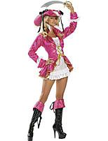 Costumes Déguisements thème film & TV Halloween Incarnadin Couleur Pleine Térylène Robe / Chapeau / Plus d'accessoires