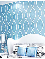 Дамаск / Ар деко / Однотонный / 3D Обои Для дома Современный Облицовка стен , Нетканый материал материал Клей требуется обои , номер