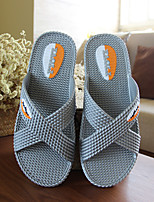 Unisex Slippers & Flip-Flops Spring / Summer / Fall Comfort PVC Casual Flat Heel Others Blue / Gray Others