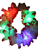 1PC LED BatteryHome Christmas Outdoors Decorate 0.6M 40Dip Hair Accessory String Lights