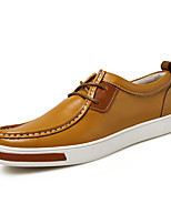 Men's Oxfords Spring / Summer / Fall / Winter Flats Office & Career / Party & Evening / Casual Flat Heel Lace-up