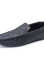 Men's Flats  Comfort / Round Toe / Closed Toe  Casual Flat Heel Others Black / Gray Walking