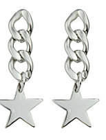 Earring Star Jewelry Women Fashion / Bohemia Style Party / Daily / Casual Alloy 1 pair Silver KAYSHINE