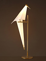 Simple Vintage PVC Papercranes Electroplated Wall Lamp for the Study Room / Bedroom Decorate Wall Light