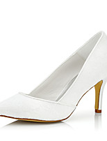 Women's / Fall Heels / Pointed Toe Silk Wedding / Party & Evening / Dress Stiletto Heel