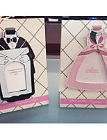 Bride and Groom Place Card Holder and Travel Tag Beter Gifts DIY Party Decorations