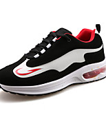 Unisex Sneakers Spring / Fall Comfort Fabric Casual Flat Heel Black / Red / White Sneaker