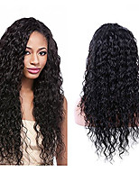 Evawigs In Stock 18-26Inch Curly Wig Lace Front & U Part Wig 100% Brazilian Human hair Wig for Women