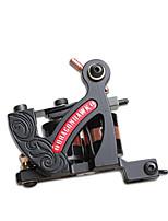 Spiral Tatoveringsmaskin Støpejern Liner Dobbelt Spoler, 8 Innpakninger 6-8 4700