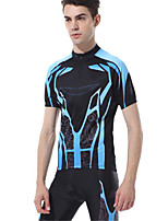 Sports® Cycling Jersey with Shorts Men's Short Sleeve Quick Dry / Wearable / Comfortable / Sunscreen Bike Clothing Sets/SuitsPolyester /