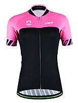 Sports® Cycling Jersey Women's / Unisex Short Sleeve Breathable / Quick Dry / Moisture Permeability / Back Pocket / Sweat-wicking Bike