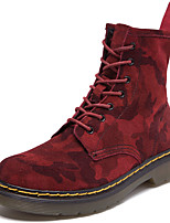 Unisex Boots Spring/Summer/Fall/Winter Cowboy / Western Boots / Combat Boots Suede Athletic Casual Brown/Red/Gray