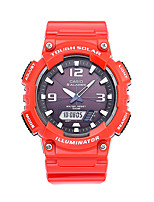 CASIO Men's Men Sport Watch Fashion Watch Digital Watch Digital Water Resistant / Water Proof Shock Resistant Large Dial Rubber Band