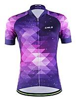 Deportes Maillot de Ciclismo Mujer / Unisex Mangas cortas BicicletaTranspirable / Secado rápido / Permeabilidad a la humeda / Bolsillo
