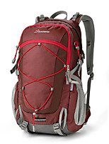 40 L Tourenrucksäcke/Rucksack Camping & Wandern Draußen Wasserdicht tragbar Gelb Grün Rot Nylon