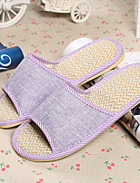 Unisex Slippers & Flip-Flops Spring / Summer Comfort Cotton Casual Flat Heel Others Blue / Pink / Gray Walking