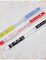 12 шт усики черные чернила гелевая ручка