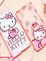 6Splus HelloKitty Ring Buckle Bracket Mobile Phone Shell Length Lanyard Silicone Sleeve