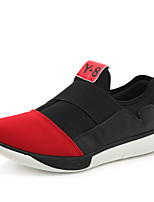Men's Sneakers Spring / Summer / Fall / Winter Flats Canvas Outdoor / Casual Flat Heel Others Black / Blue / Red Walking