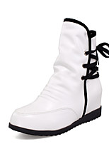 Women's Fashion Boots PU Party & Evening / Casual Flat Heel Lace-up More Color Snow Boots EU35-39