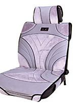 высокое качество белый искусственная замша автомобиля подушки