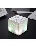Cool Dazzle Colour Lamp Rubik'S Cube Wireless Bluetooth Speakers Mobile Phone Subwoofer Mini Portable