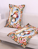 1PC Household Articles Floral Cottony Originality Fashionable Single Pillow Case
