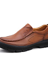 Men's Loafers & Slip-Ons Spring / Fall / Winter Comfort Cowhide Office & Career
