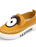 Unisex Loafers & Slip-Ons Spring / Fall Comfort / Round Toe PU Casual Flat Heel Others Black / Yellow / Red